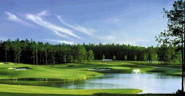 words to describe a golf course