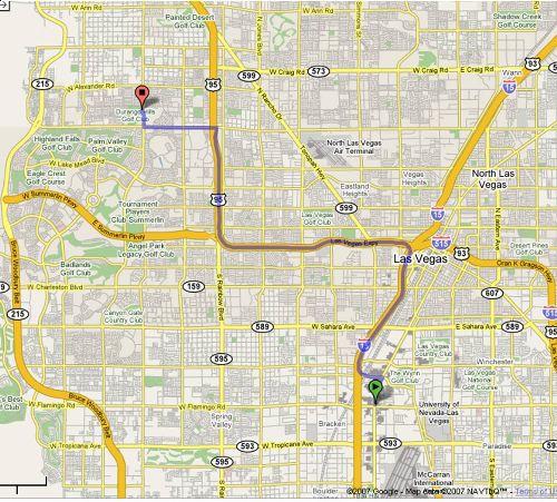Golf Courses In Las Vegas Map.Durango Hills Golf Course Las Vegas Nevada