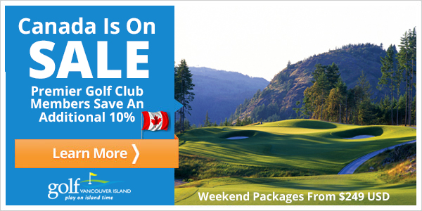 Save over 35% on a golf holiday!