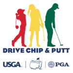 Drive, Chip, & Putt Logo