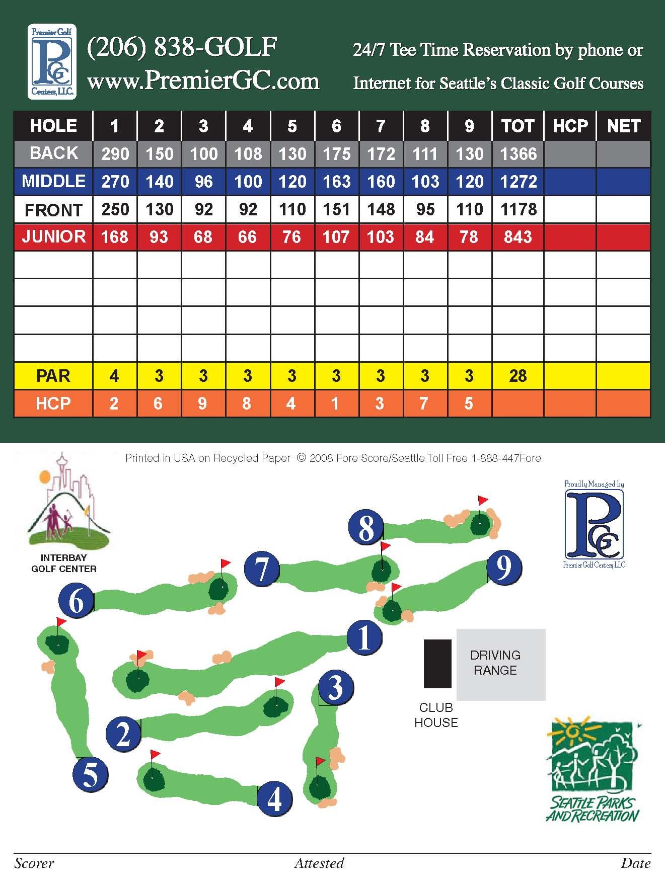 Seattle Wa Premier Golf Centers