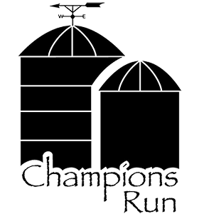 Champions Run Logo Header
