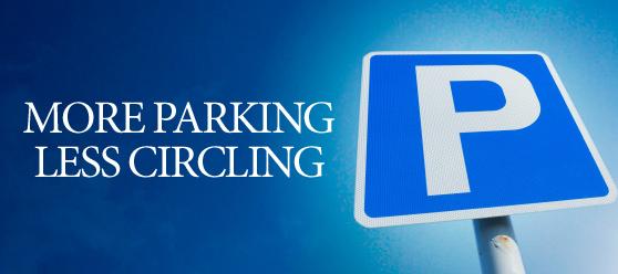 More Parking, Less Circling!
