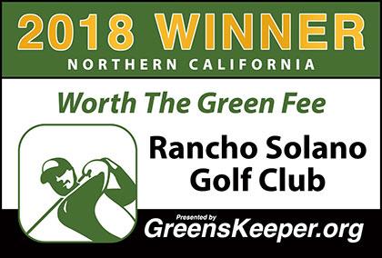 Rancho Solano Golf Club 2018 Northern California Worth The Green Fee Winner Image