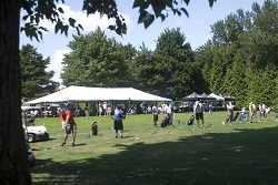 Heron Lakes Outing Event Tent