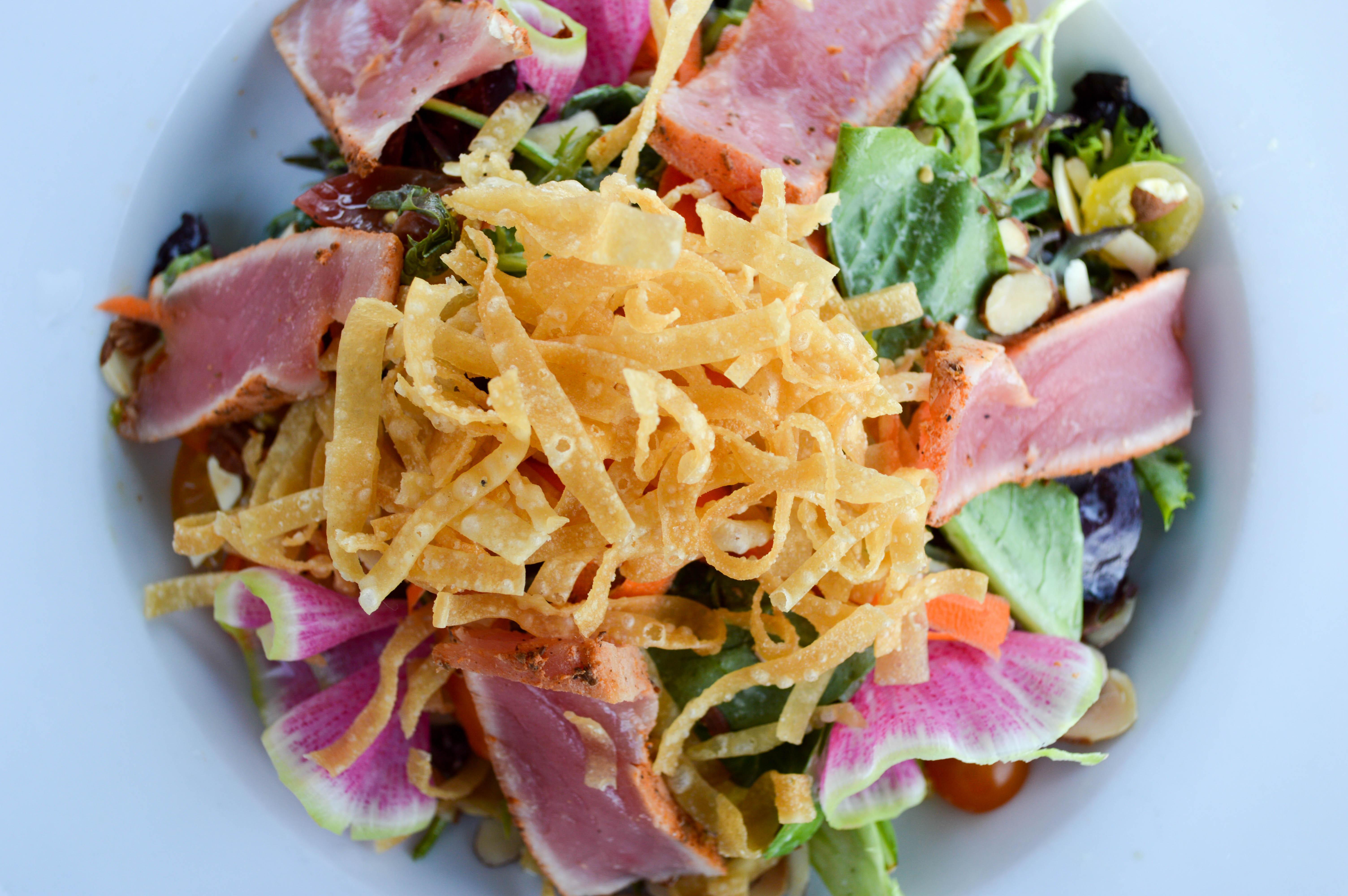 Seared Ahi Salad