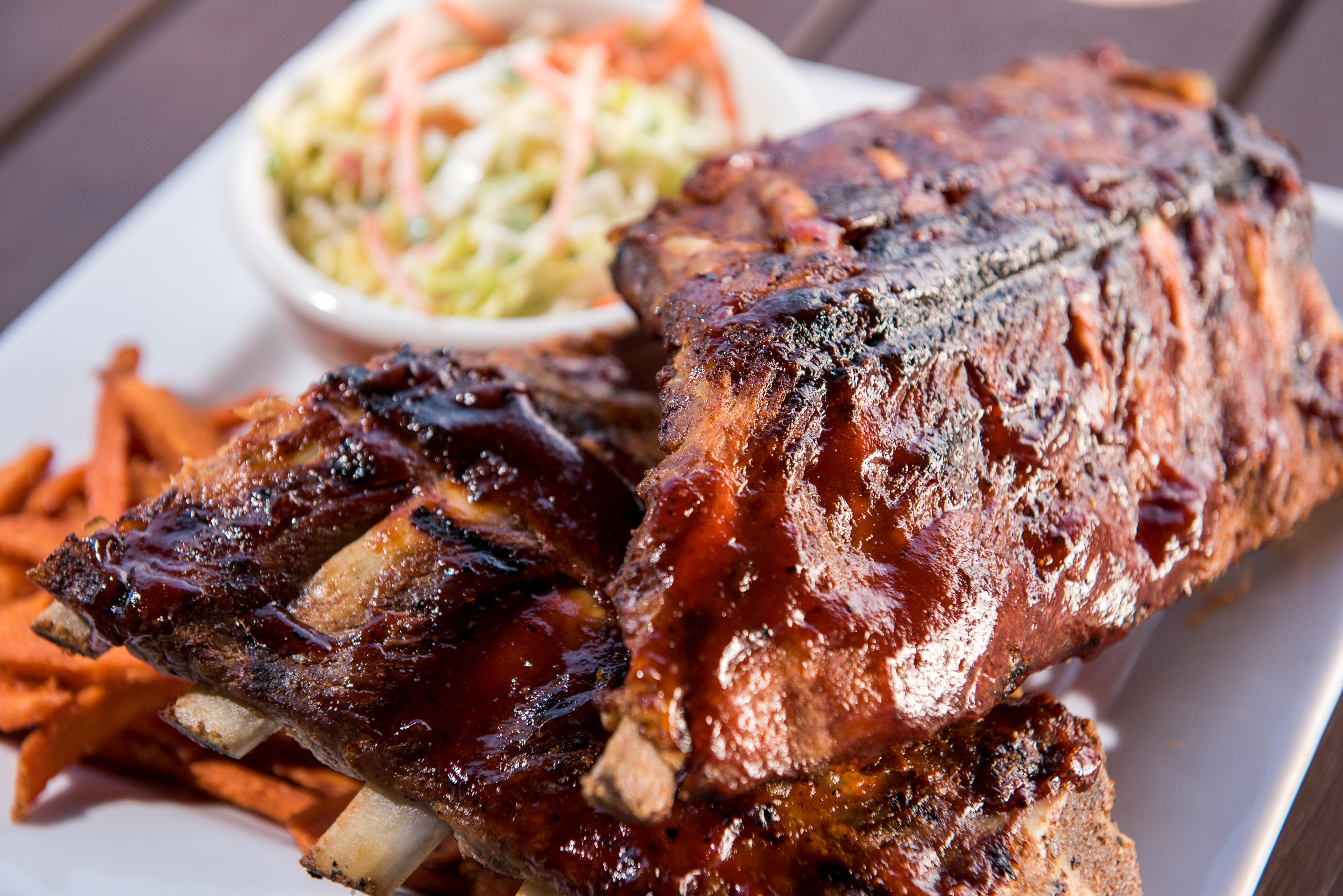 Baby Back Ribs Served On Wednesday Nights