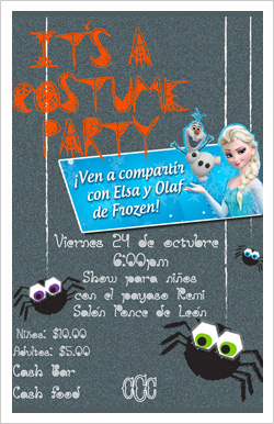 Costume party for Kids