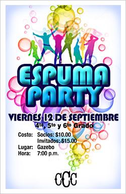 CAPARRA ESPUMA PARTY