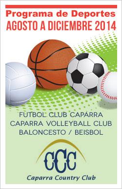 Deportes CCC Agosto a Diciembre 2014