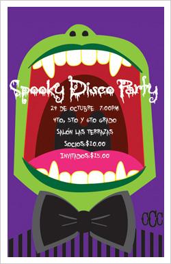 Spooky Disco party