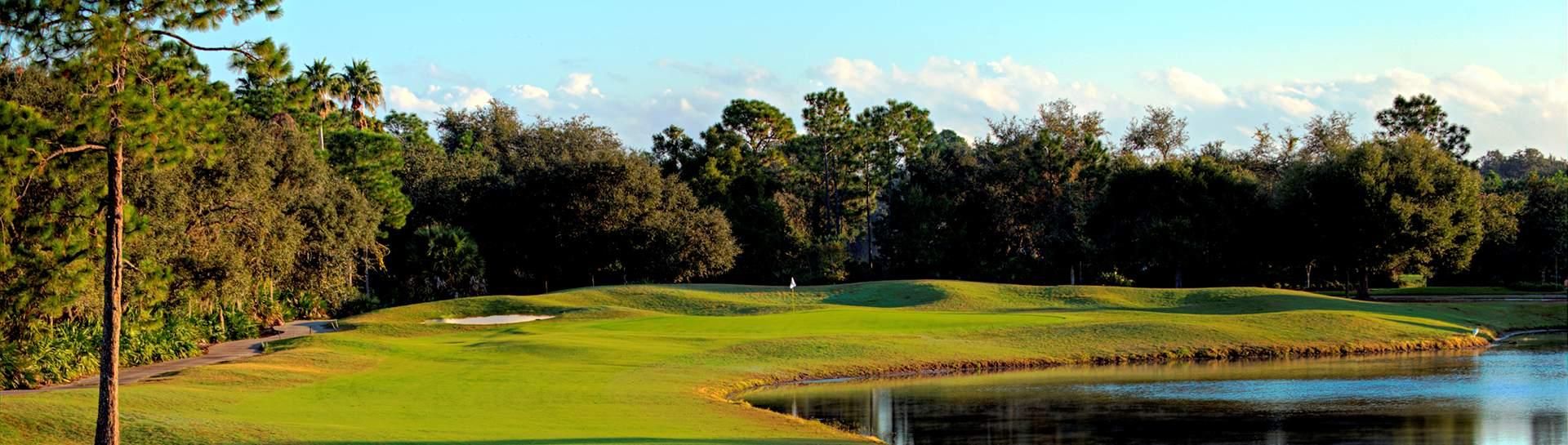Daytona Beach Golf Courses - Cypress Head Golf Club - Port