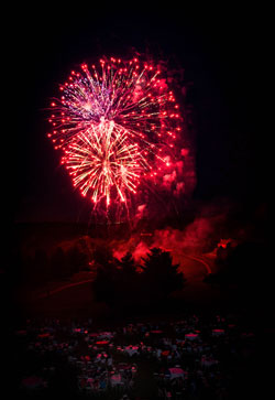 fireworks, family fun, country club, holly hills country club, golf