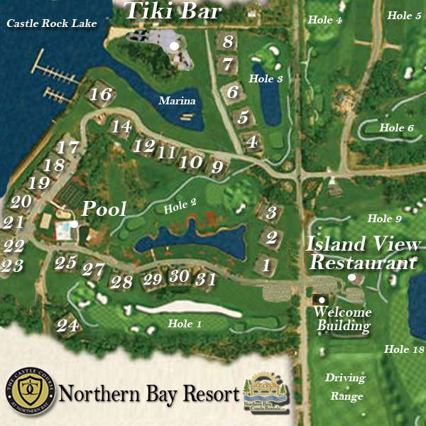 Central Wisconsin Condo Rentals | Northern Bay Resort on
