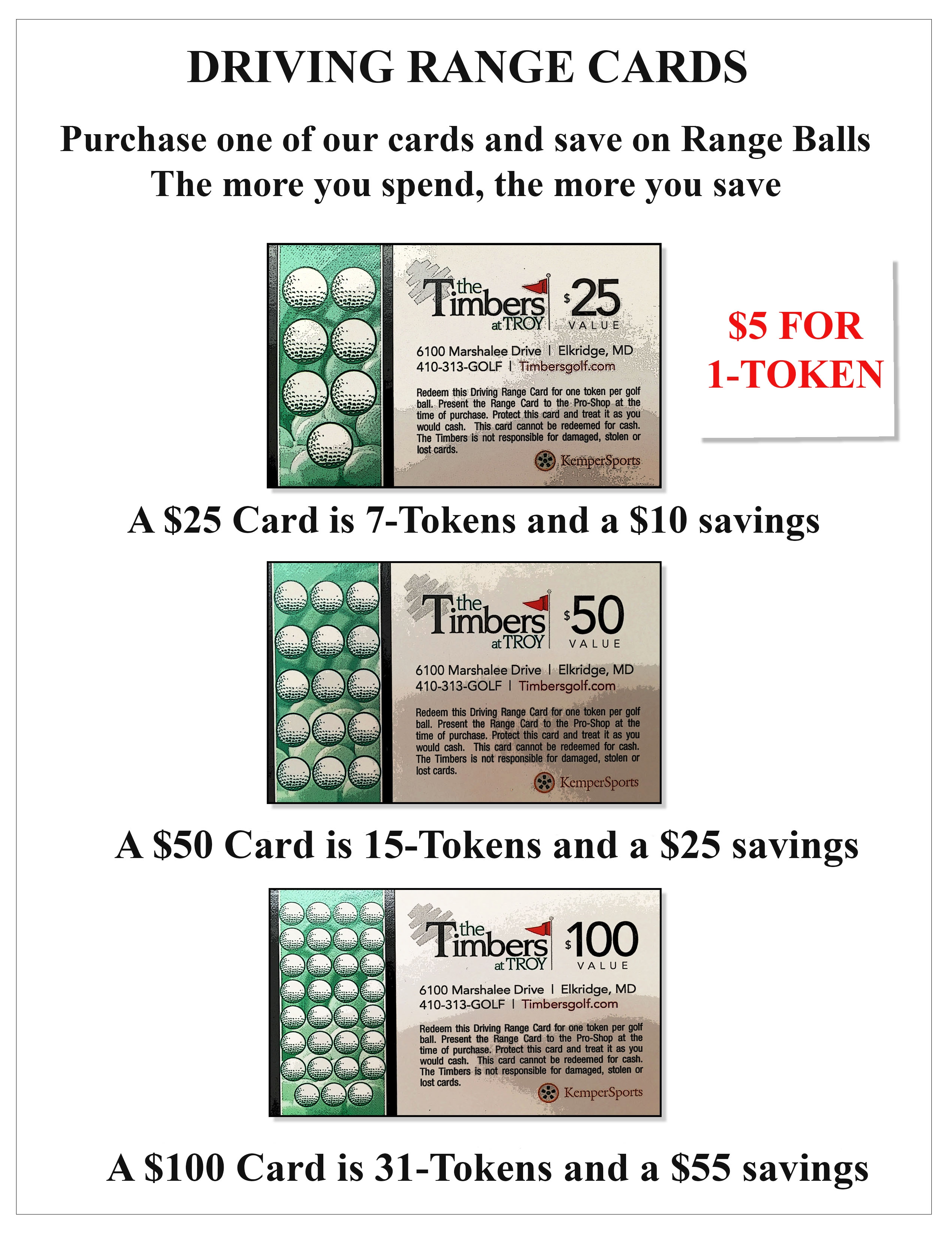 Click to see the Range Cards