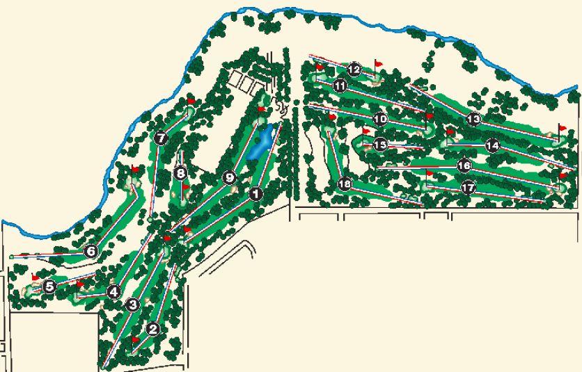 Creekside Golf Course Modesto California Golf Courses