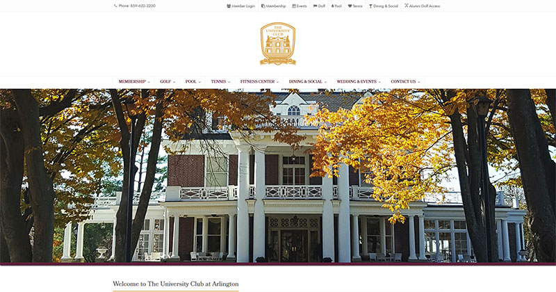 The University at Arlington Responsive Web Design Sample Image
