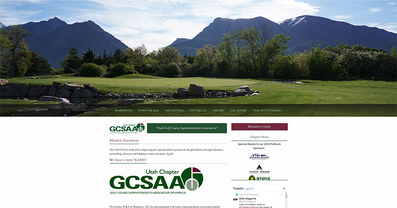 UGCSA Responsive Web Design Sample Image