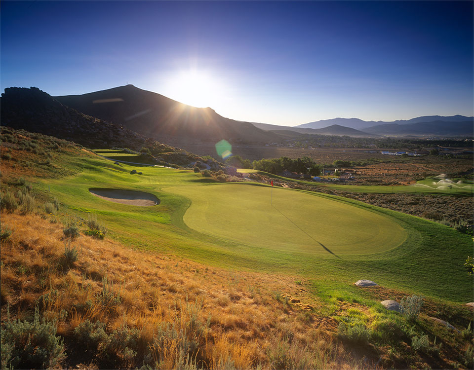 Carson City Reno Tahoe Nevada Golf Courses Silver Oak Golf Course