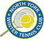 North York Winter Tennis Logo Header