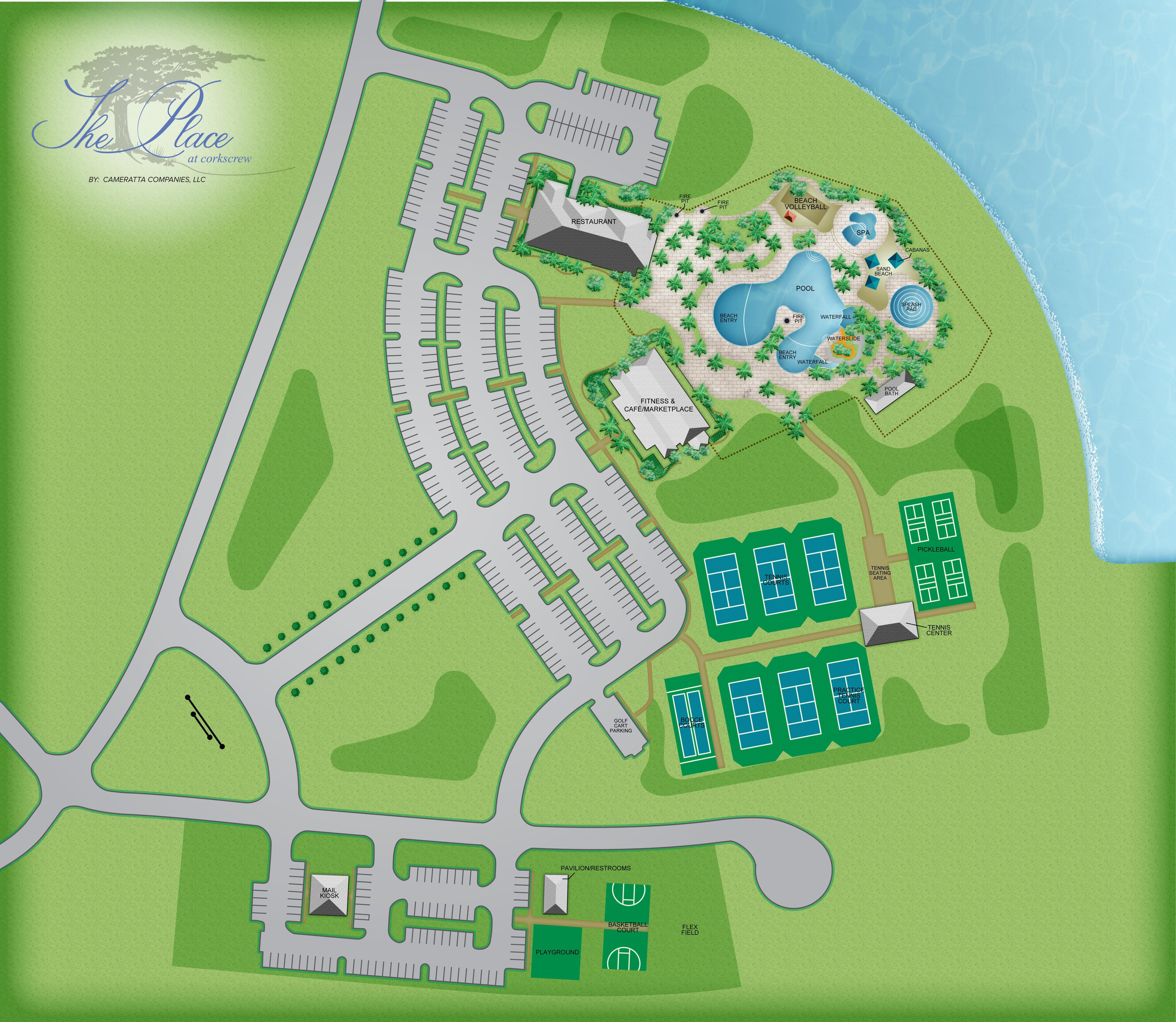 Amenity Site Plan