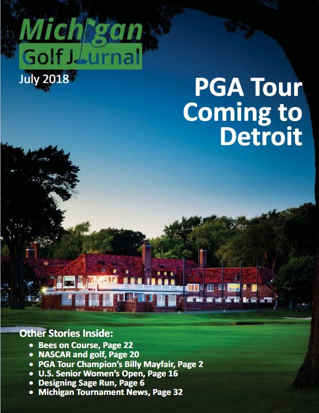 Click her to go to Michigan Golf Journal for July 2018 Issue