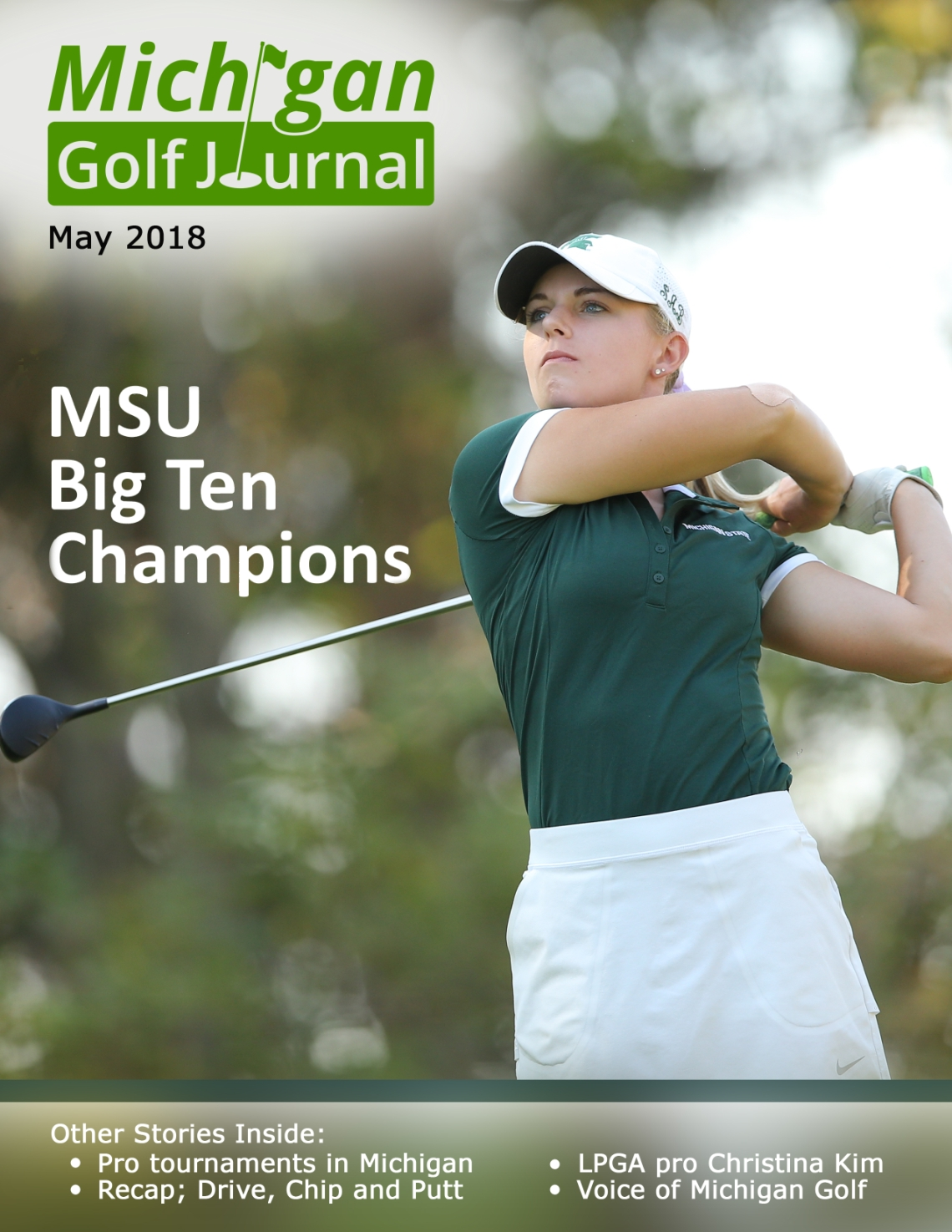 Click her to go to Michigan Golf Journal for May 2018 Issue