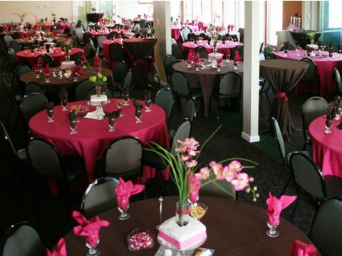Bridal Showers, Charity Events and Parties with 300 guests ALL WELCOME