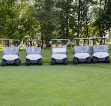Golf Carts - Corporate Events