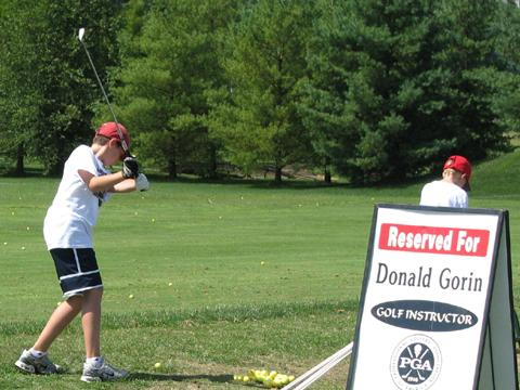 The Landings at Spirit Golf Club offers a full service practice facility