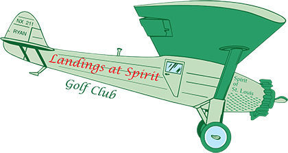 The Landings at Spirit Golf Club - Header Logo
