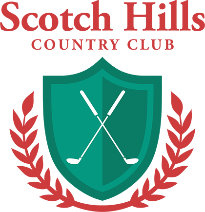Scotch Hills Country Club Logo Original Footer