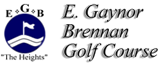 E. Gaynor Brennan Golf Course Logo Header