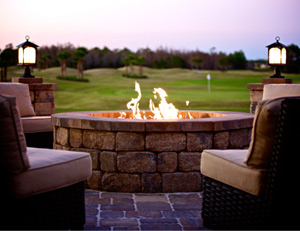 Photo LPGA Firepit