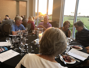 LPGA Member Wine Dinner photo