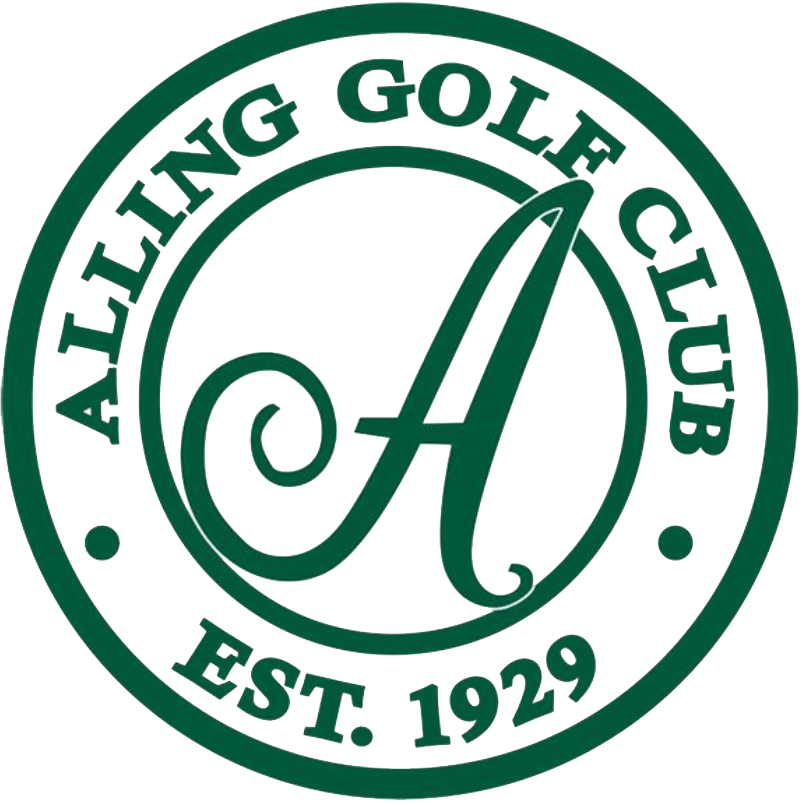 Alling Memorial Golf Club Logo Footer