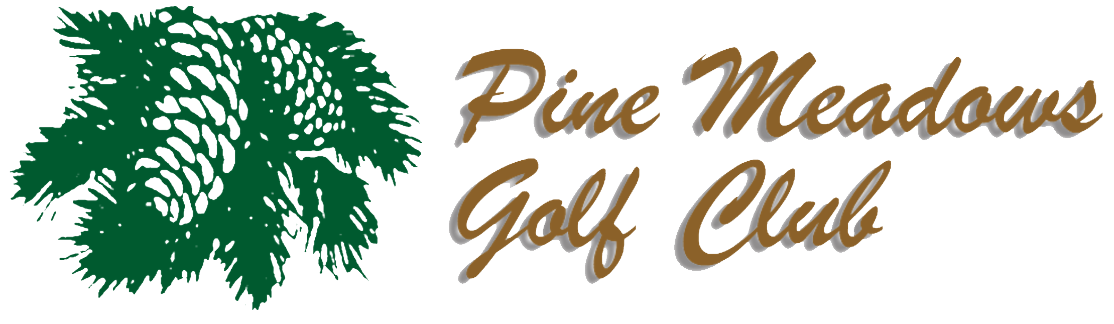 Pine Meadows Golf Club Logo Header