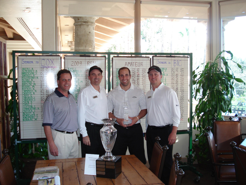 2009 RSM Amateur Winner Marc Zien with Tijeras Creek Golf Club Professionals - Orange County, California