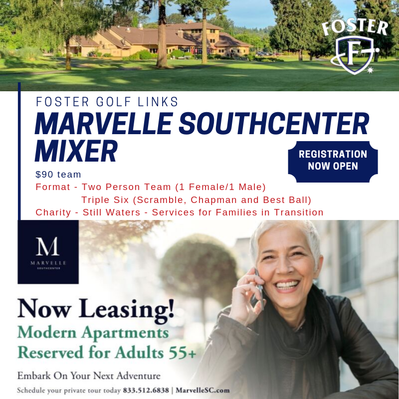 Foster Golf LInks - Marvelle Mixer - August 17th