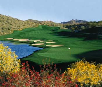 Eagle Mountain Golf Club in Fountain Hills, Arizona