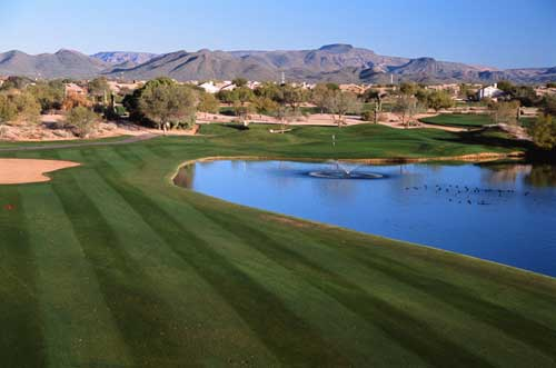 Tatum Ranch Golf Club on the edge of Scottsdale, Arizona in Cave Creek