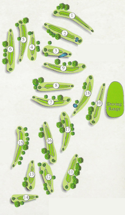 Excelsior Springs Course Layout