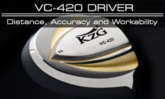 KZG VC-420 Custom Fit Driver