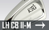Custom Fit Irons Left Handed Japanese Forged CB II-M
