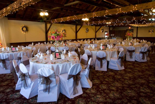 Below is picture of my reception site and some ideas I have for flowers I am