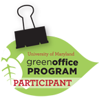 Green office program logo