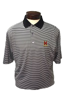 FootJoy ProDry Stripe Black Shirt