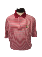 FootJoy ProDry Stripe Red Shirt