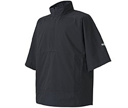 FootJoy HydroLite Black Short Sleeve Rain shirt