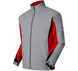 FootJoy DryJoy Hydrolite Gray Red Black Jacket